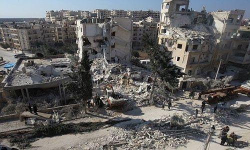 La ciudad siria de Idlib es la última localidad con presencia de grupos terroristas. I Foto Reuters