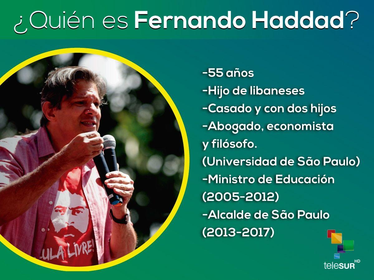Las propuestas de Haddad y D'Ávila