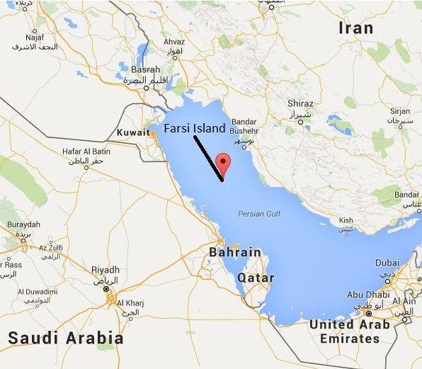 Iran Detains US Navy Sailors Ships In Persian Gulf News - Us maps navy