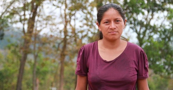 Ana Mirian Romero is a Lenca human rights defender fighting for Indigenous rights in western Honduras.