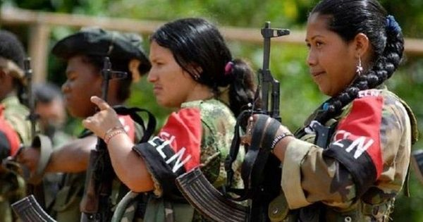 The ELN is Colombia's second largest left-wing guerrilla army, after the FARC.