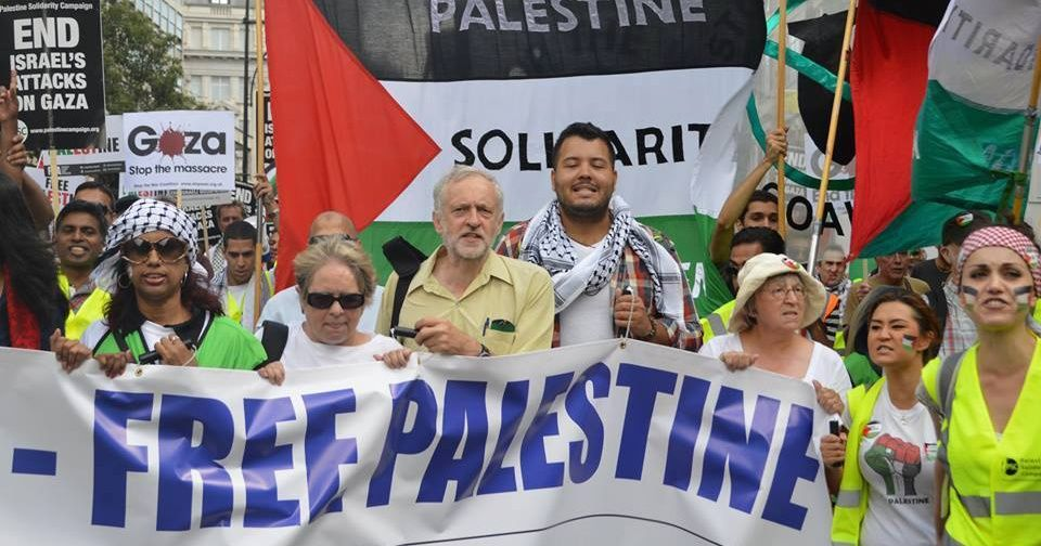 Image result for corbyn palestine