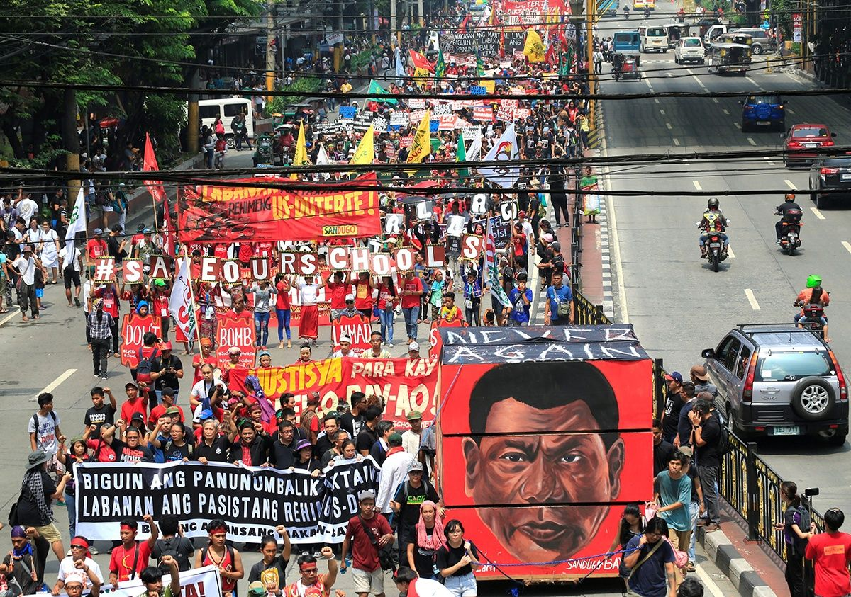 Filipinos Remember Martial Law Under Marcos While Resisting \'US ...